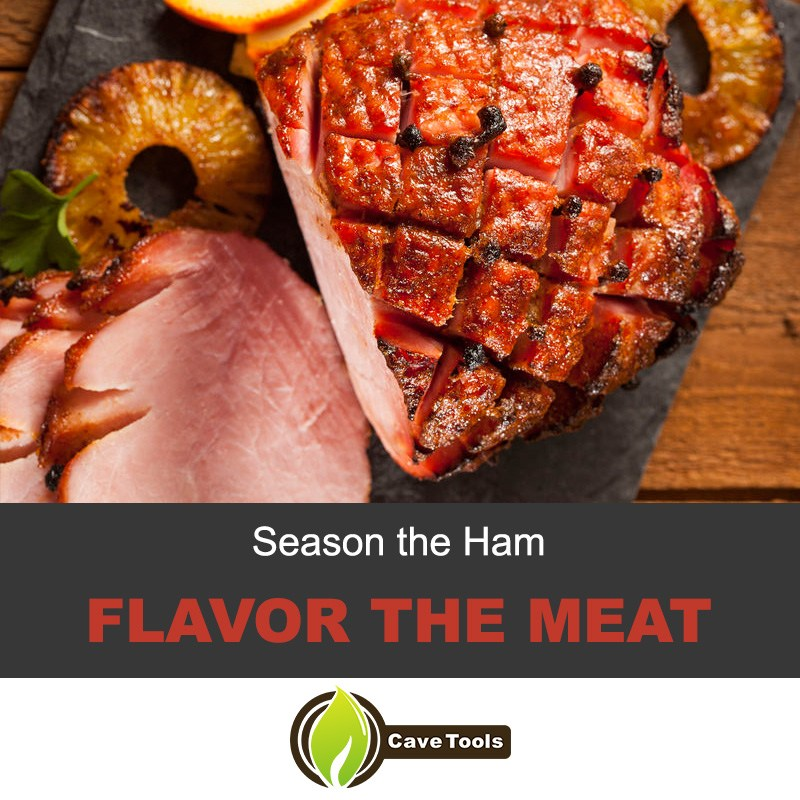 Season The Ham Flavor The Meat