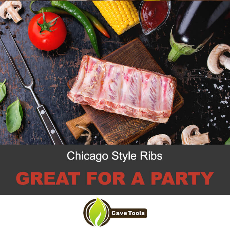 Chicago Style Ribs Great For A Party