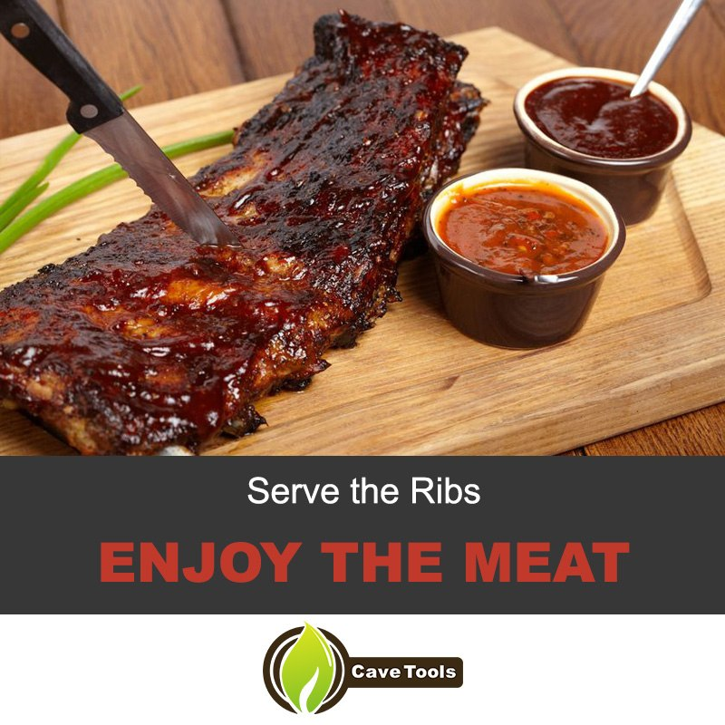 Serve The Ribs Enjoy The Meat