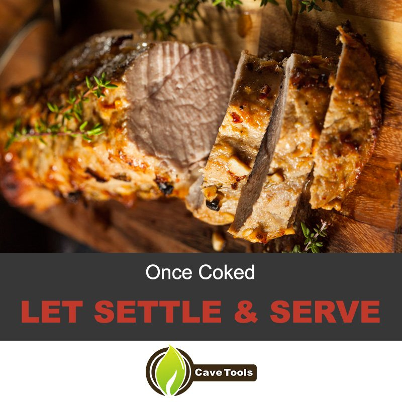 Once Coked Let Settle & Serve