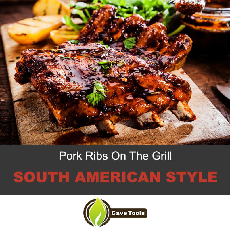 Pork Ribs on The Grill South American Style
