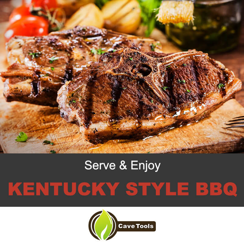 Serve & Enjoy Kentucky Style BBQ