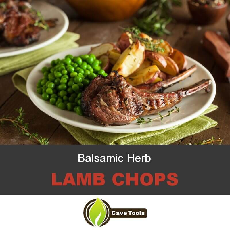 How To Cook Balsamic Herb Lamb Chops