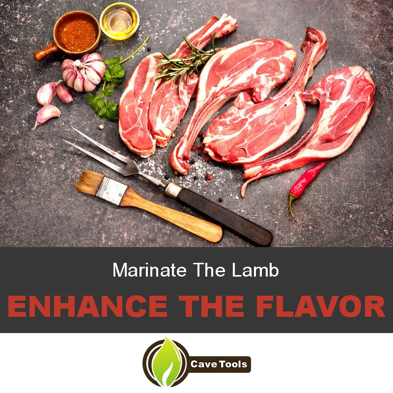 Marinate The Lamb Enhance the flavor