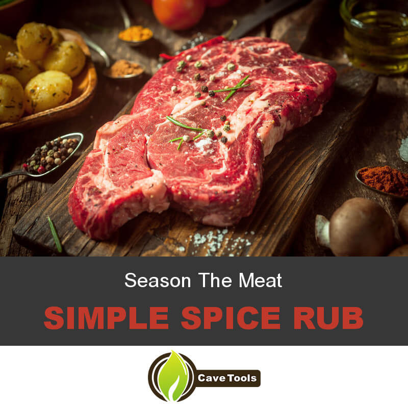 Season The Meat Simple Spice Rub