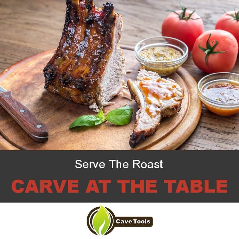 Serve The Roast Carve At The Table