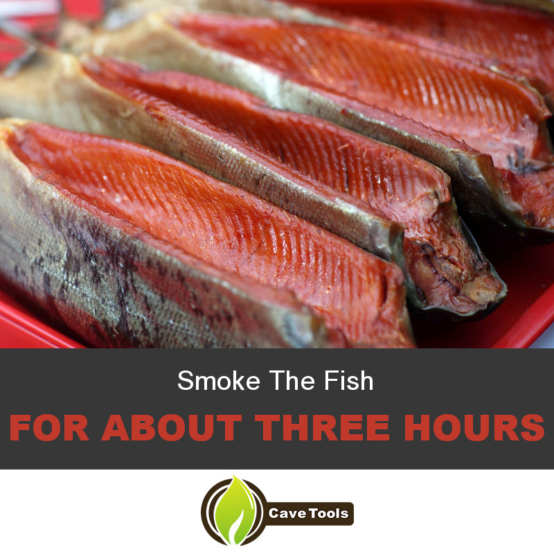 Smoke The Fish For about three hours