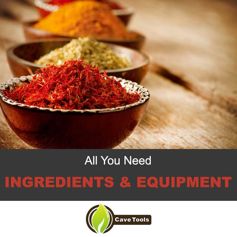 All You Need Ingredients & Equipment