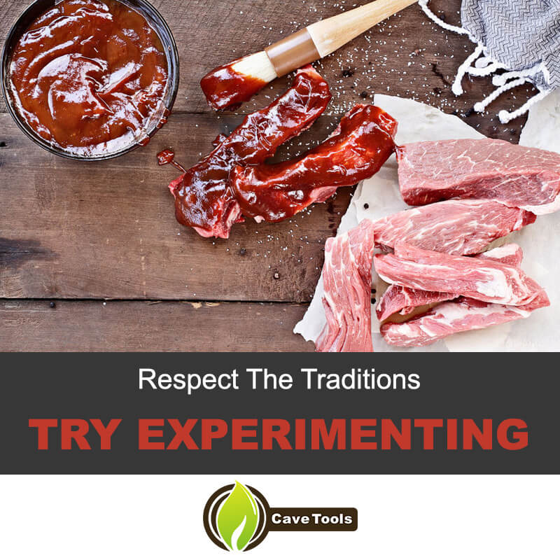 Respect The Traditions Try Experimenting