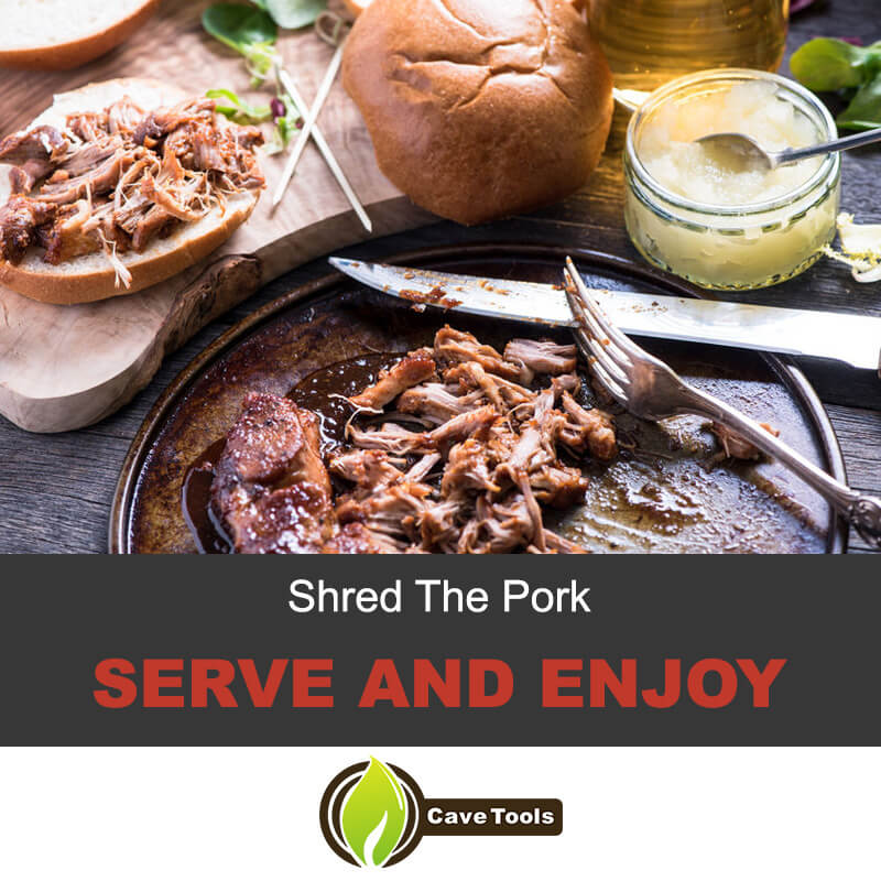 Shred The Pork Serve And Enjoy