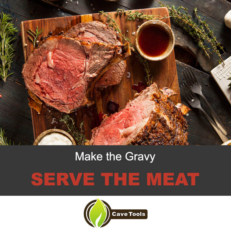 Make The Gravy Serve The Meat