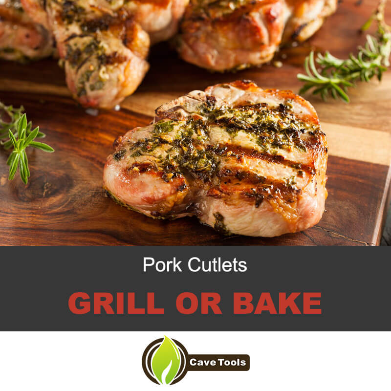 Pork Cutlets Grill Or Bake