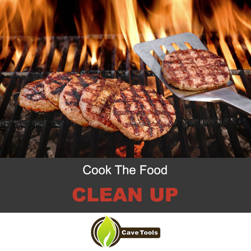 Cook The Food Clean Up