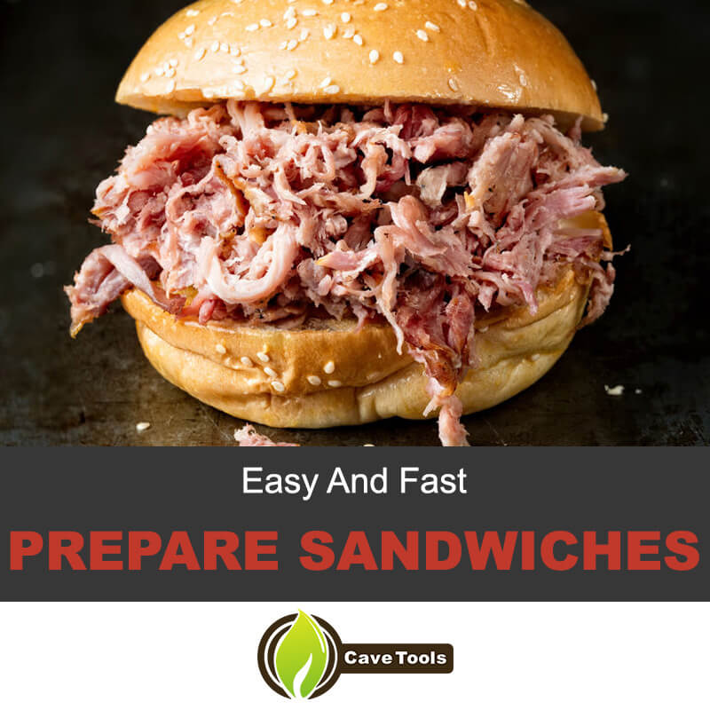 Easy And Fast Prepare Sandwiches