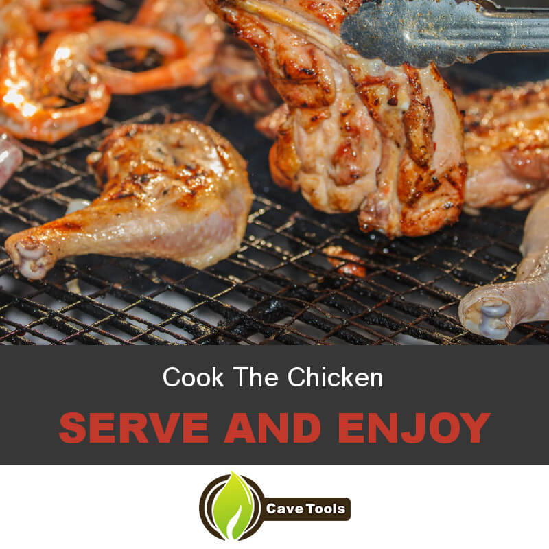 Cook The Chicken Serve and Enjoy