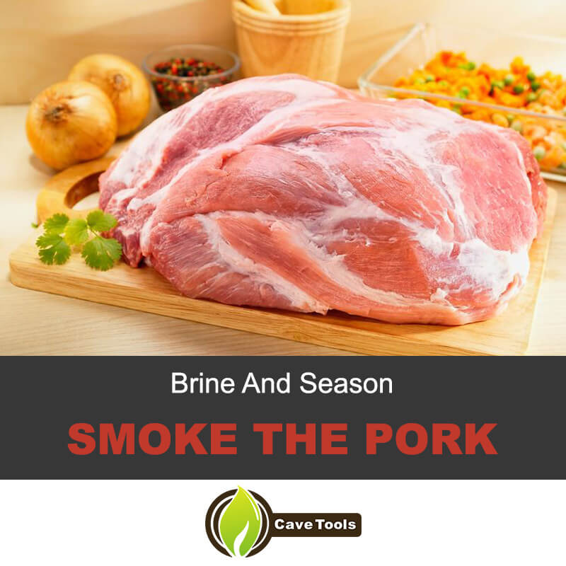 Brine and season the pork