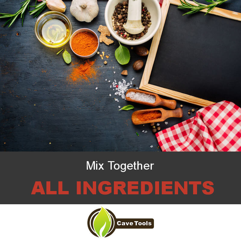 Mix Together All Ingredients