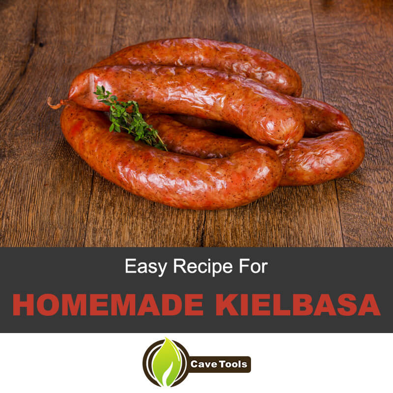 Easy recipe for homemade kielbasa