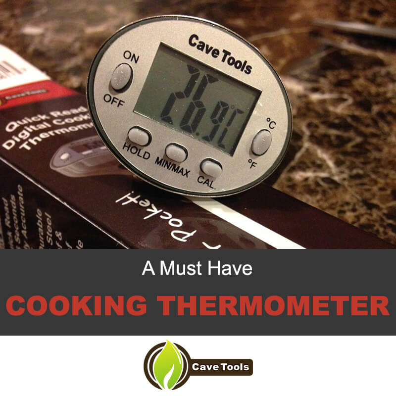 How To Use Your Digital Cooking Thermometer - Cave Tools - Grill Master