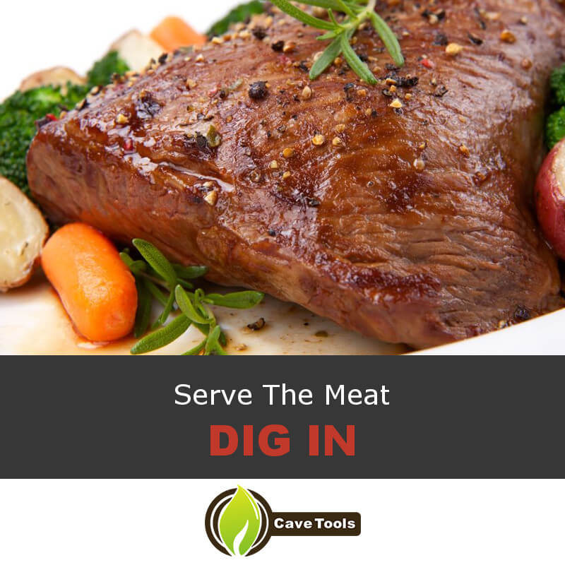 Serve The Meat Dig In