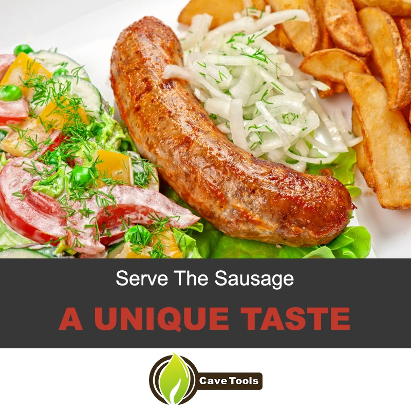 The unique taste of the sausage