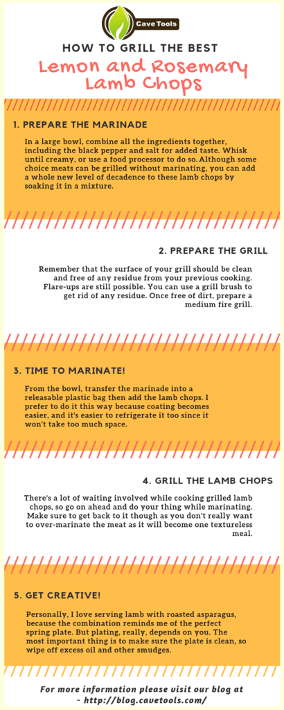 How To Grill Best Lemon And Rosemry Lamb Chops