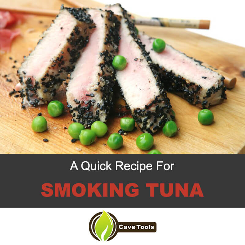 A quick recipe for smoking tuna