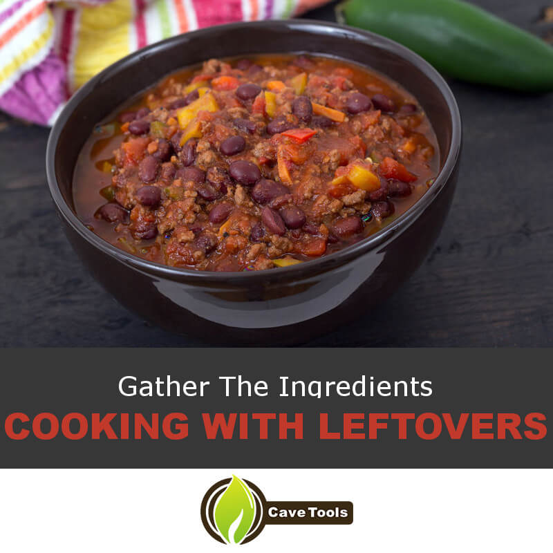 Gather The Ingredients Cooking With Leftovers