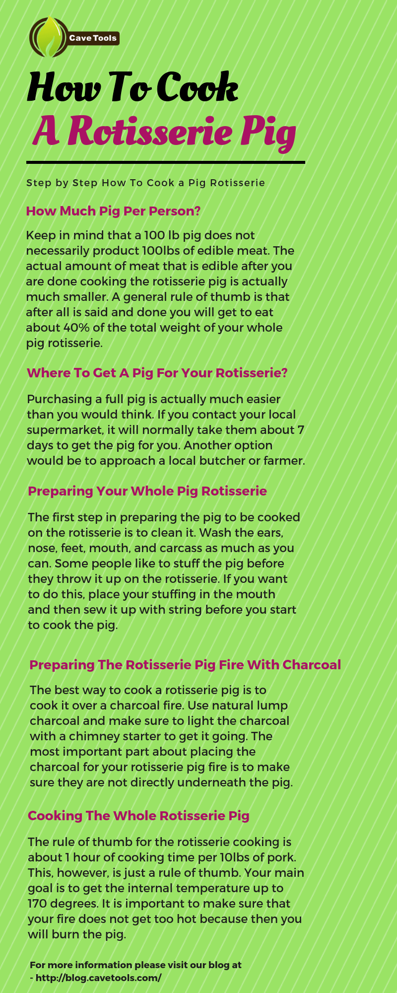 How To Cook A Rotisserie Pig