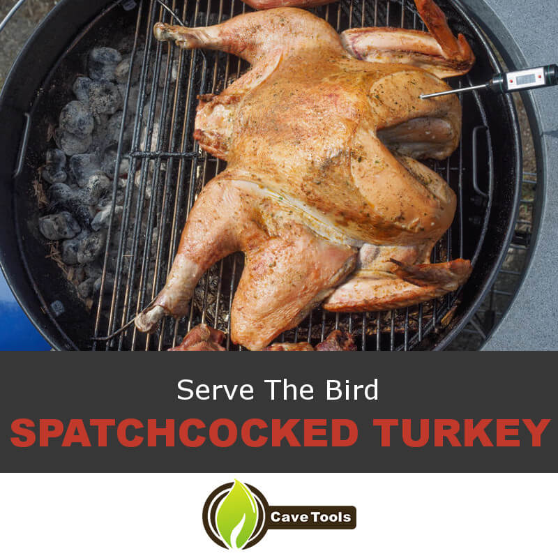Serve The Bird Spatchcocked Turkey