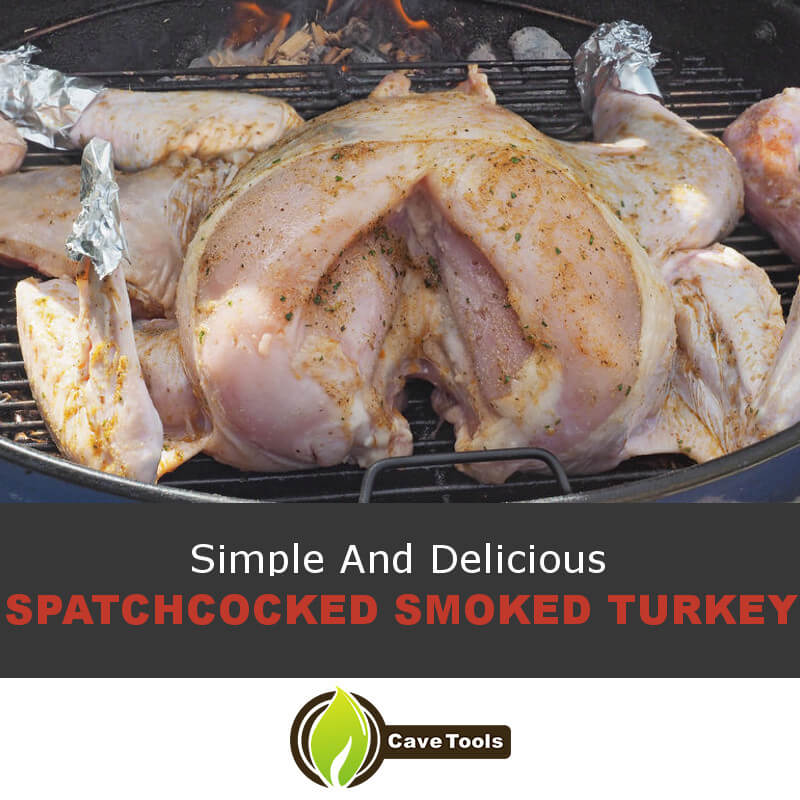 Simple And Delicious Spatchcocked Smoked Turkey