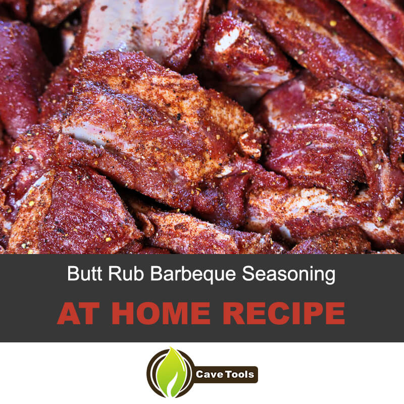 Butt rub barbecue seasoning recipe