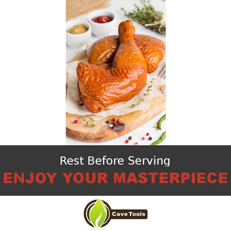 Rest Before Serving Enjoy Your Masterpiece