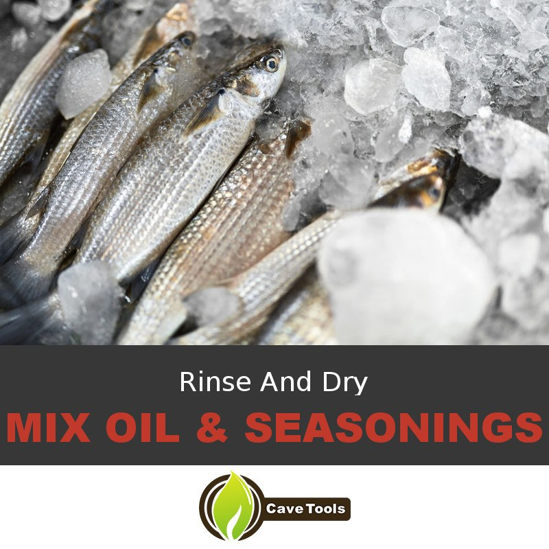 Rinse And Dry Mix Oil & Seasonings