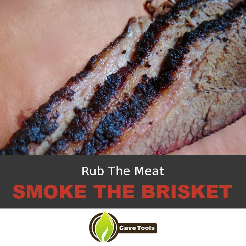 Rub The Meat Smoke The Brisket