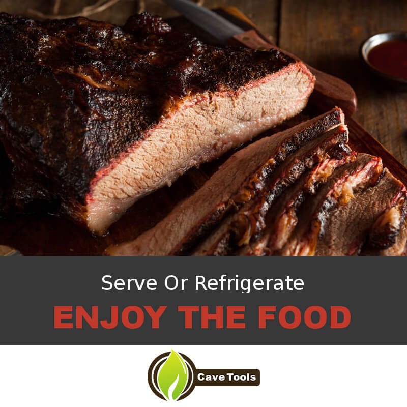 Serve Or Refrigerate Enjoy The Food