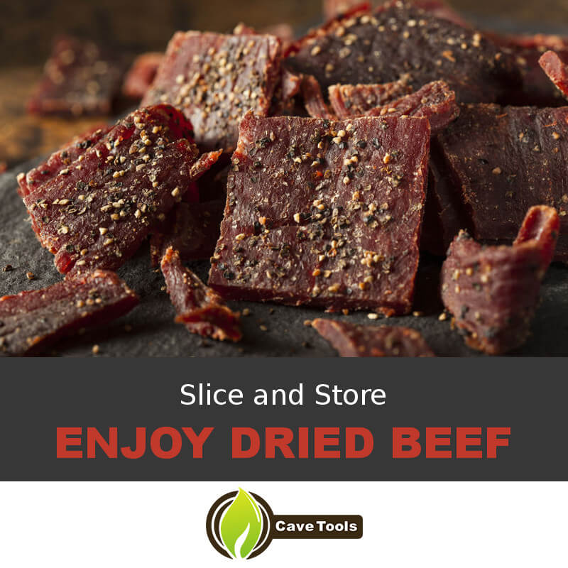 Slice and Store Enjoy Dried Beef
