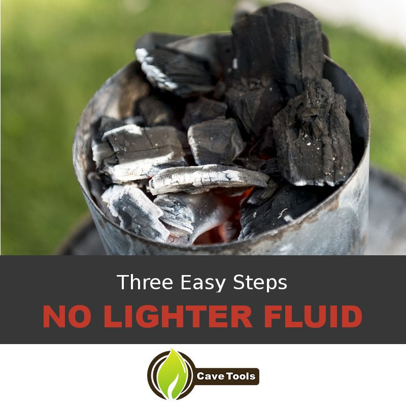 Three Easy Steps No Lighter Fluid