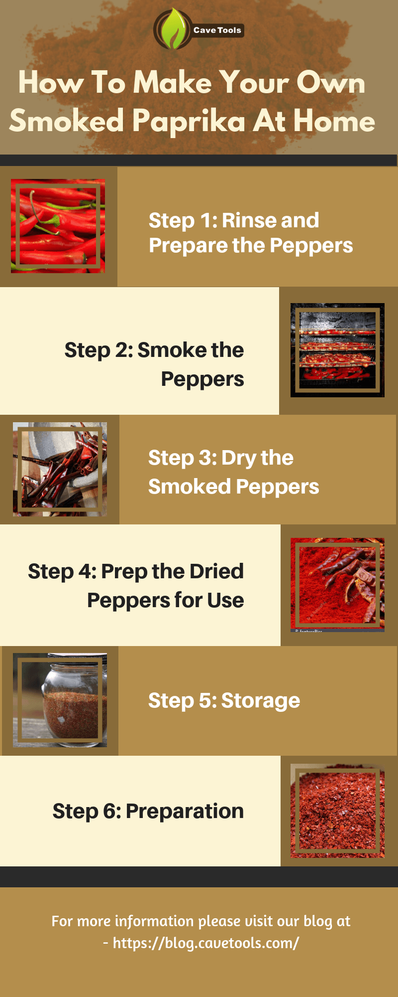 how to make smoked paprika