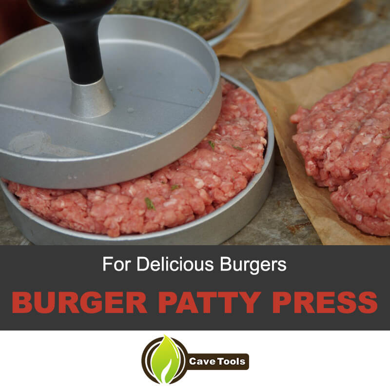 Burger patty press