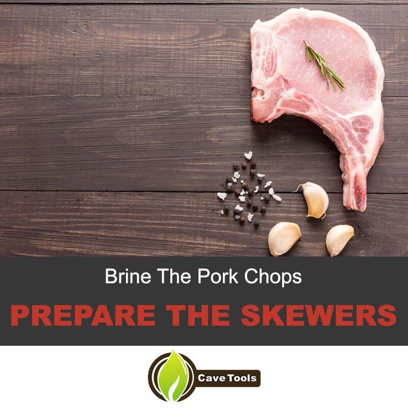 Brine the pork chops