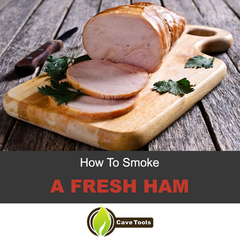 How to smoke a fresh ham