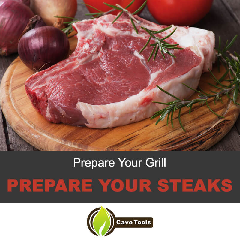 Prepare Spinalis Steaks