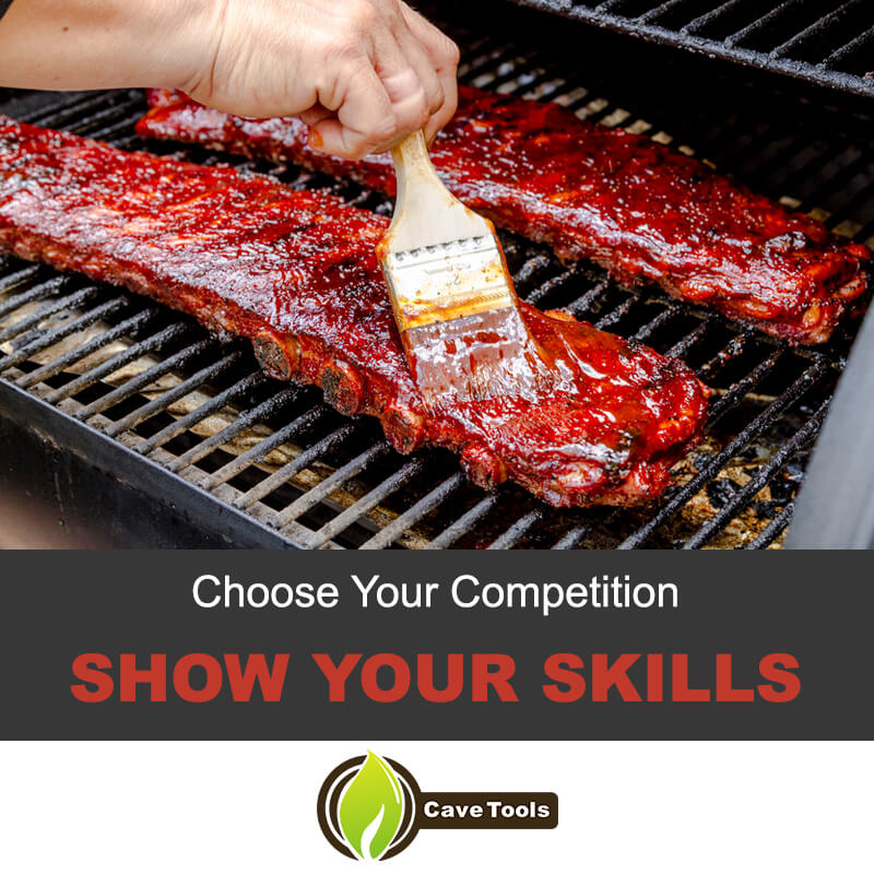 Show your skills in competition BBQ