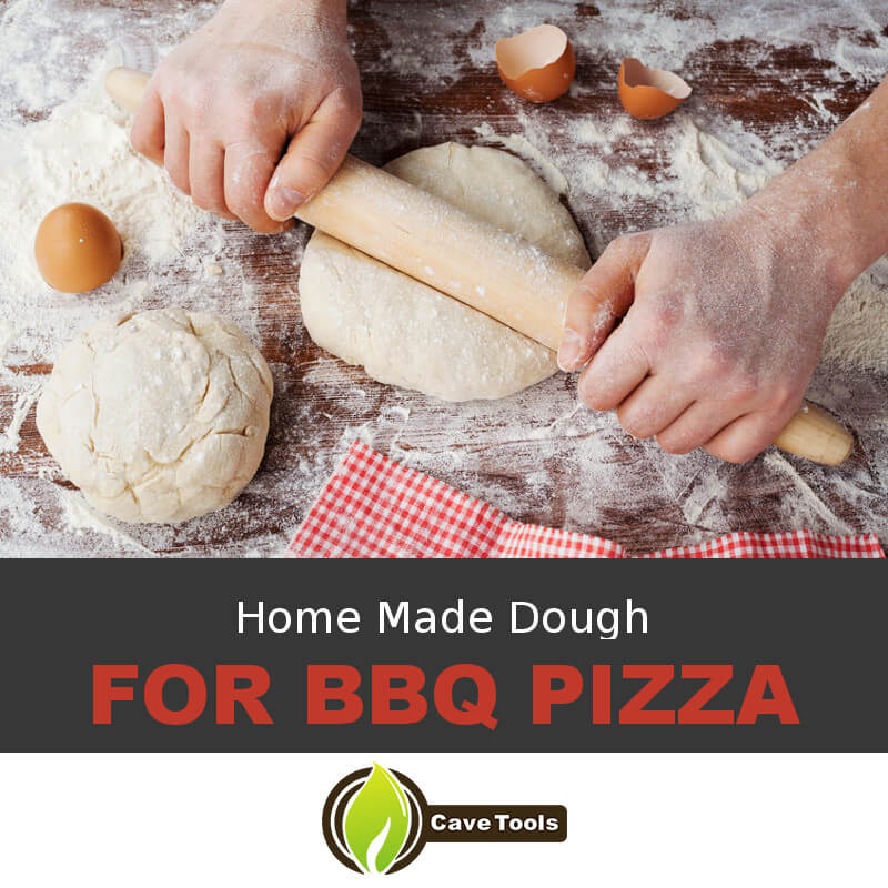 Home Made Dough For BBQ Pizza