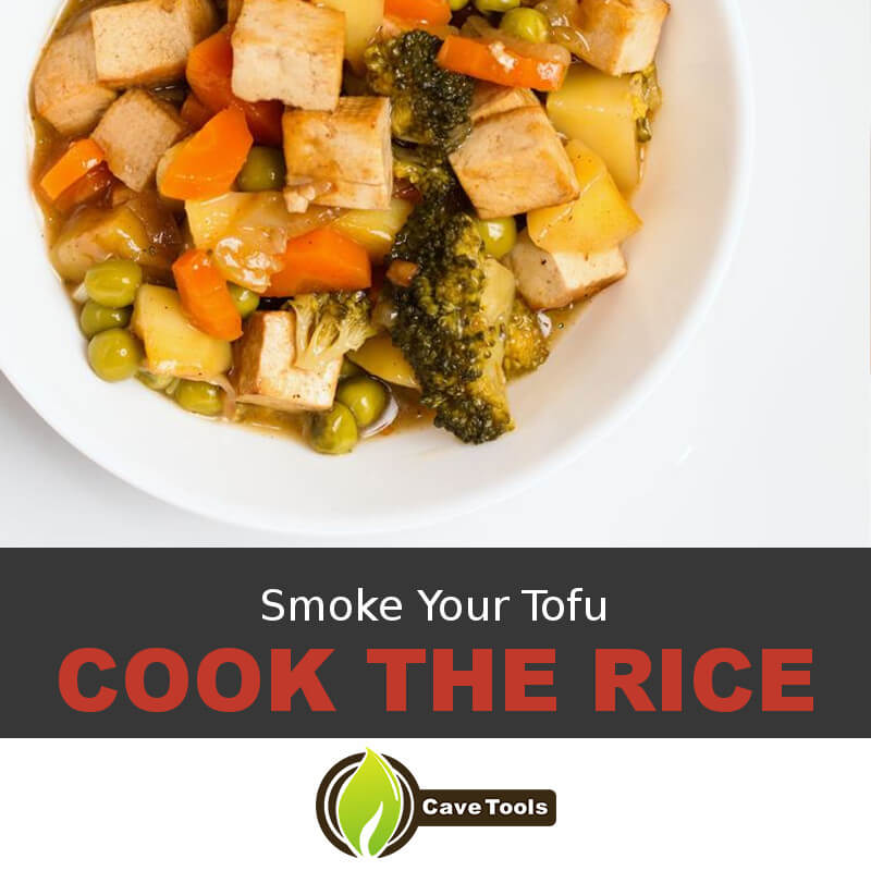 Smoke Your Tofu Cook The Rice