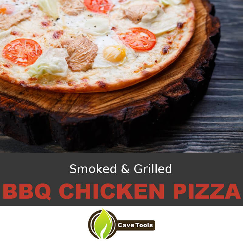 Smoked & Grilled BBQ Chicken Pizza