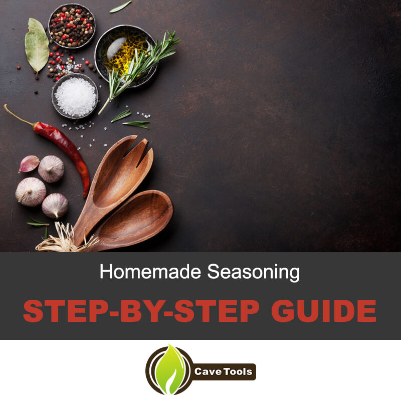 Step-by-step guide on seasoning