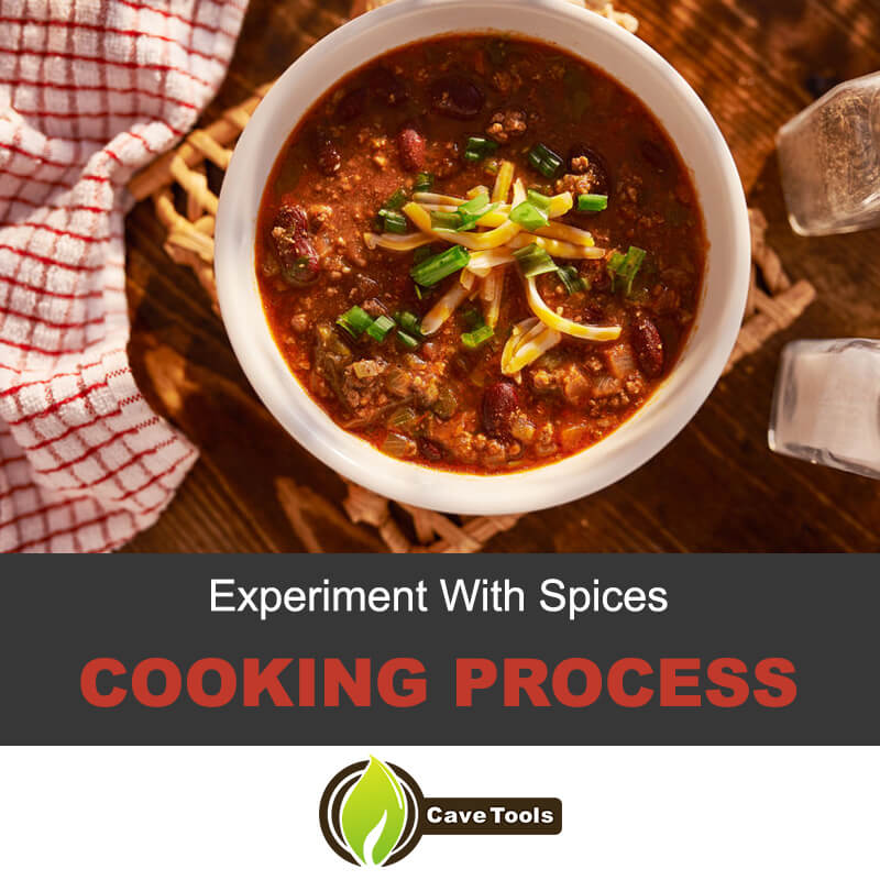Chili cooking process