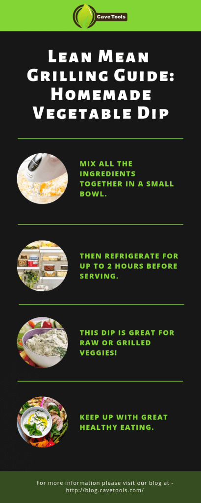 Lean Mean Grilling Guide: Homemade Vegetable Dip